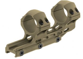 Leapers UTG 30mm HIGH 34mm Offset Picatinny Scope Mount FDE Cerakote AIR32234D